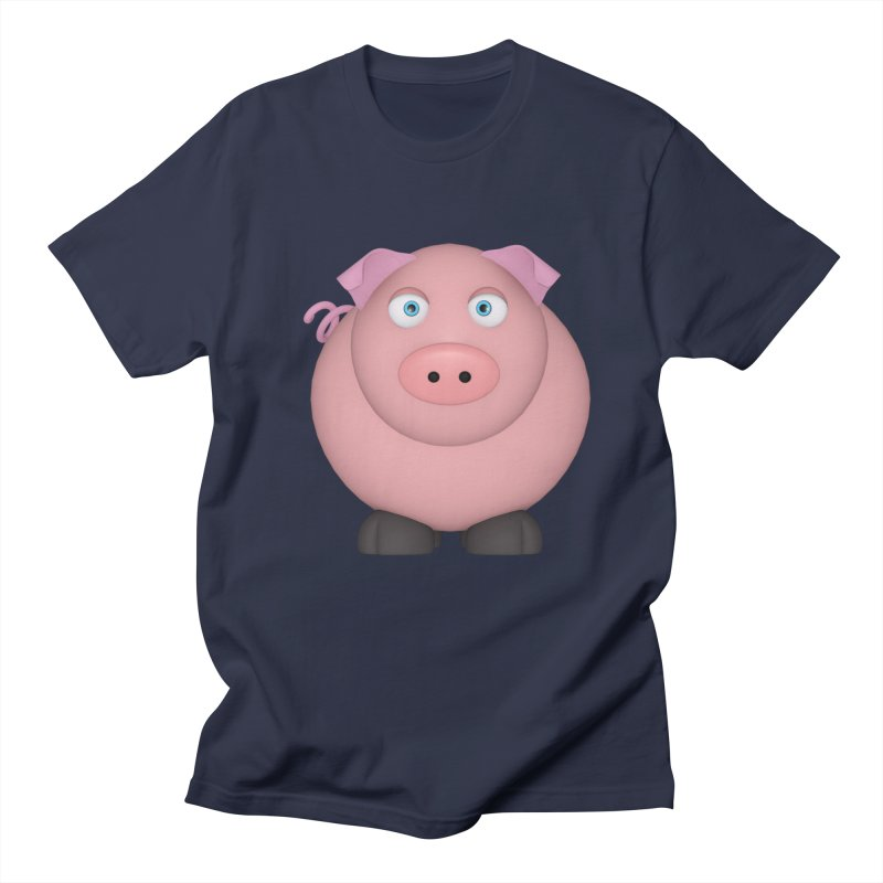 Ping Pig Men's Regular T-Shirt by Me&My3D