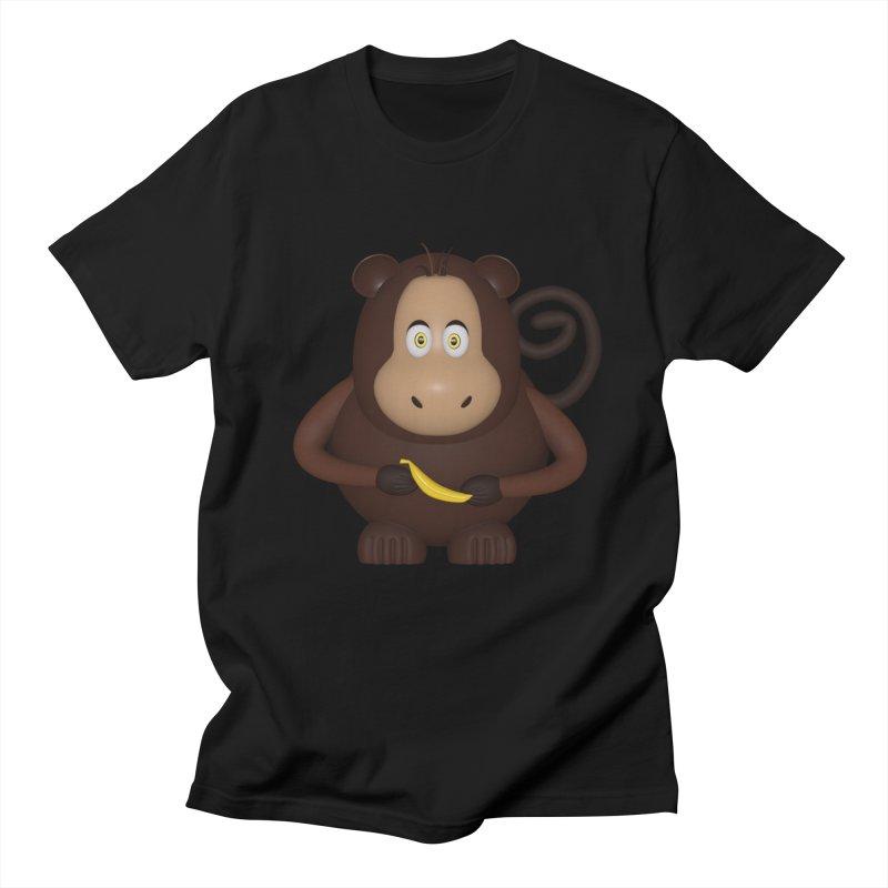Monkey  Men's Regular T-Shirt by Me&My3D