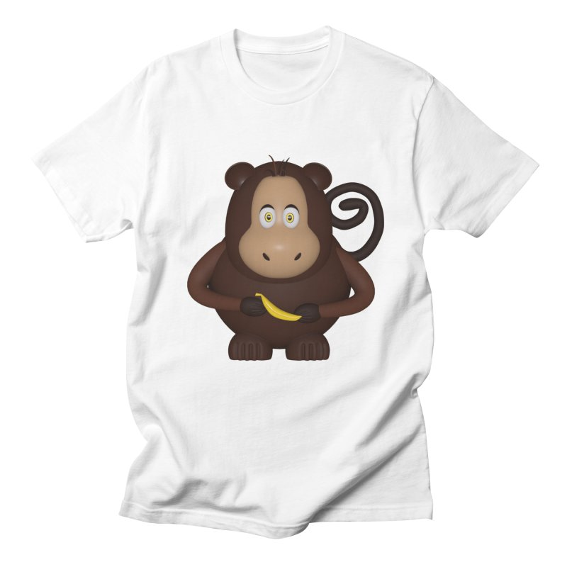 Monkey  Women's Regular Unisex T-Shirt by Me&My3D