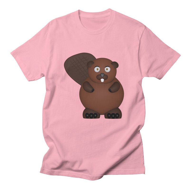 Beaver Women's Regular Unisex T-Shirt by Me&My3D