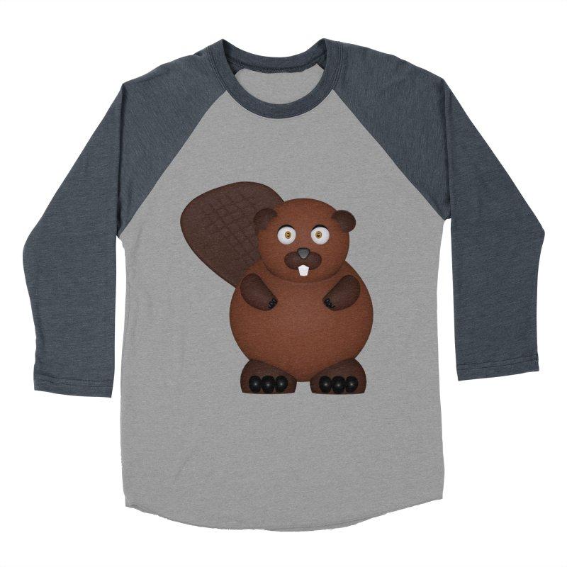 Beaver Women's Baseball Triblend Longsleeve T-Shirt by Me&My3D