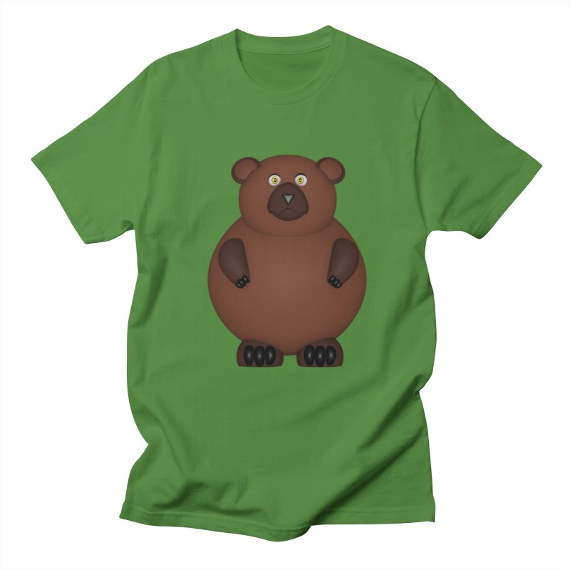Bear Women's Regular Unisex T-Shirt by Me&My3D