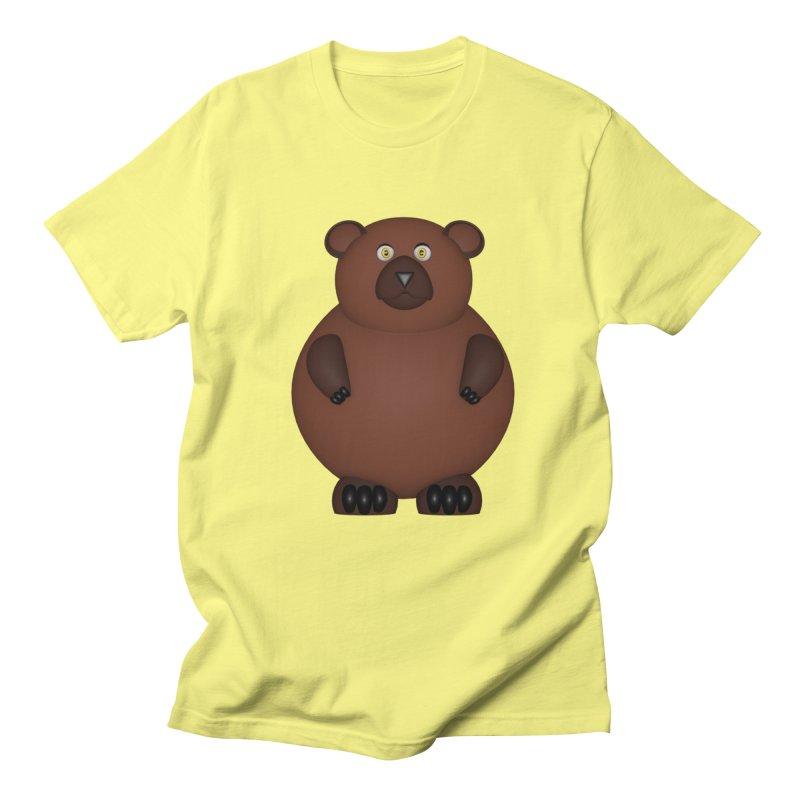 Bear Men's Regular T-Shirt by Me&My3D
