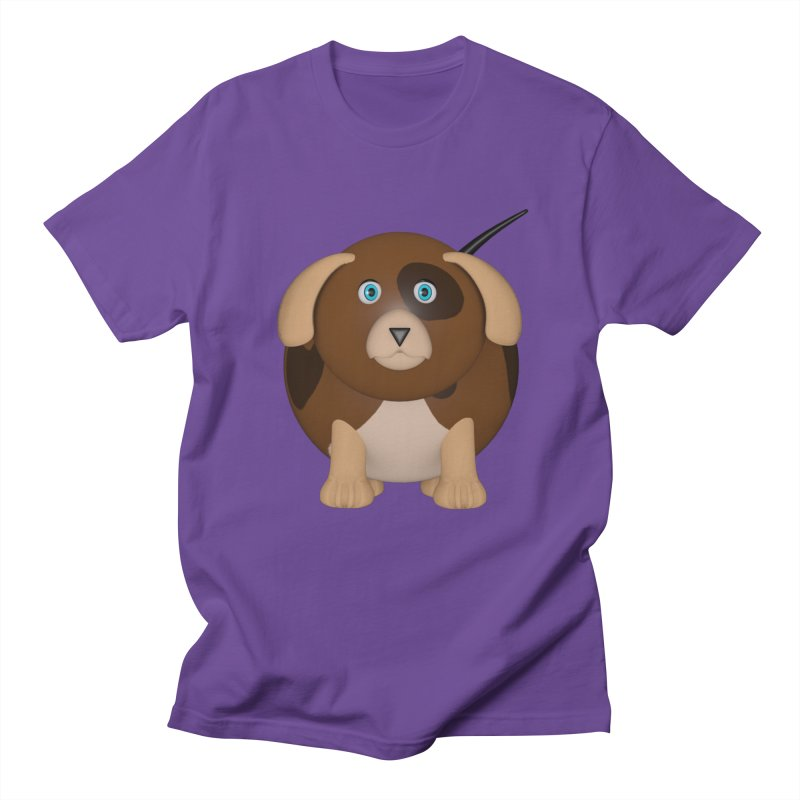 Beagle Dog Men's Regular T-Shirt by Me&My3D