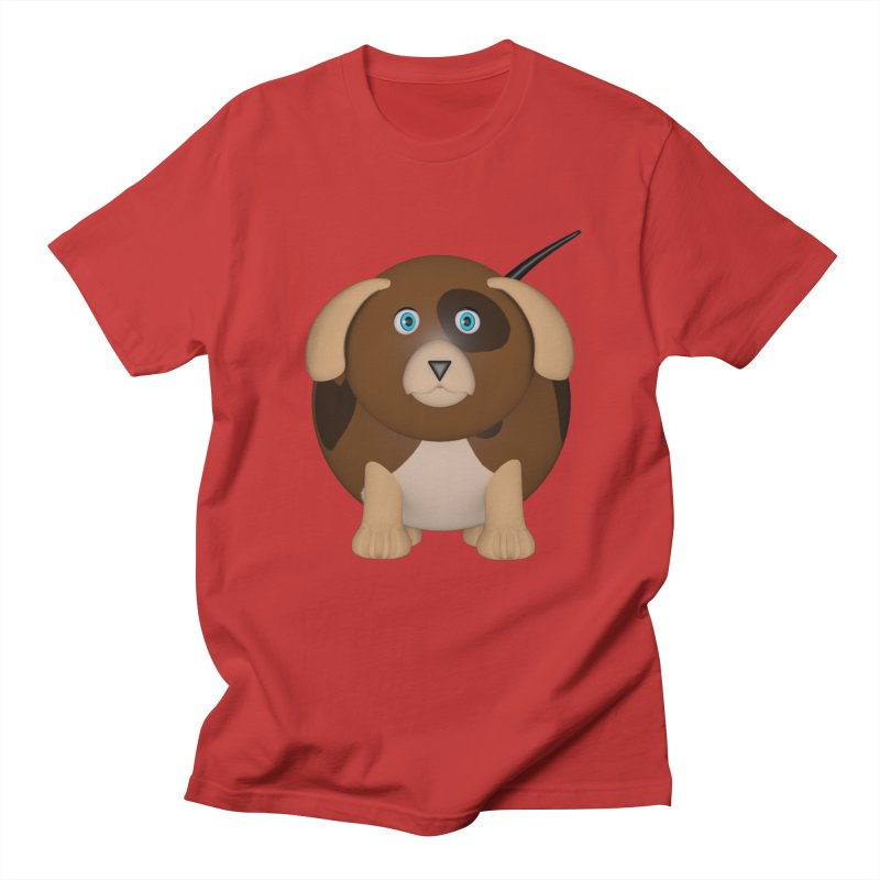 Beagle Dog Women's Regular Unisex T-Shirt by Me&My3D