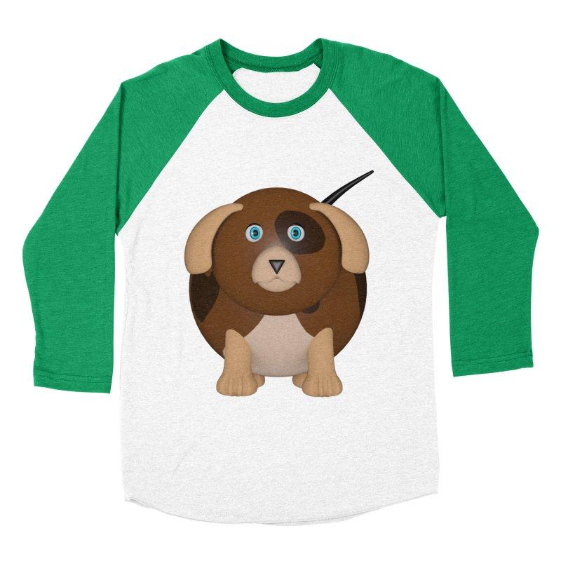 Beagle Dog Women's Baseball Triblend Longsleeve T-Shirt by Me&My3D