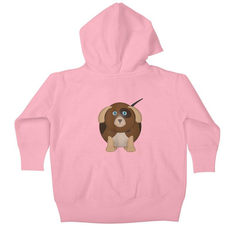 Beagle Dog Kids Baby Zip-Up Hoody by Me&My3D