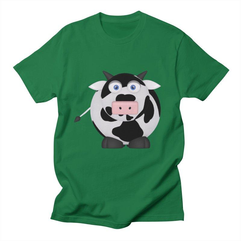 Cow Men's Regular T-Shirt by Me&My3D