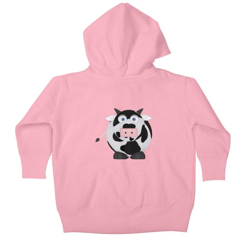 Cow Kids Baby Zip-Up Hoody by Me&My3D