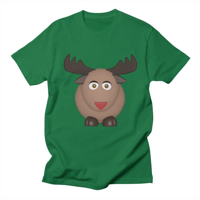 Elk/Reindeer Women's Unisex T-Shirt by Me&My3D