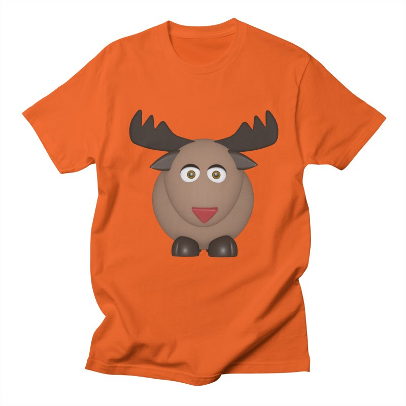 Elk/Reindeer Women's Regular Unisex T-Shirt by Me&My3D