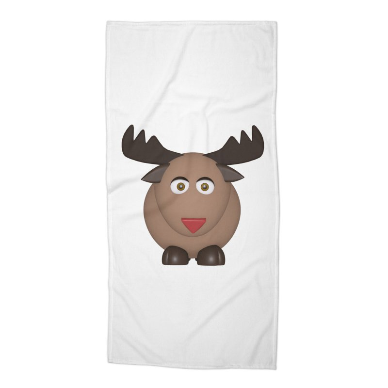 Elk/Reindeer Accessories Beach Towel by Me&My3D