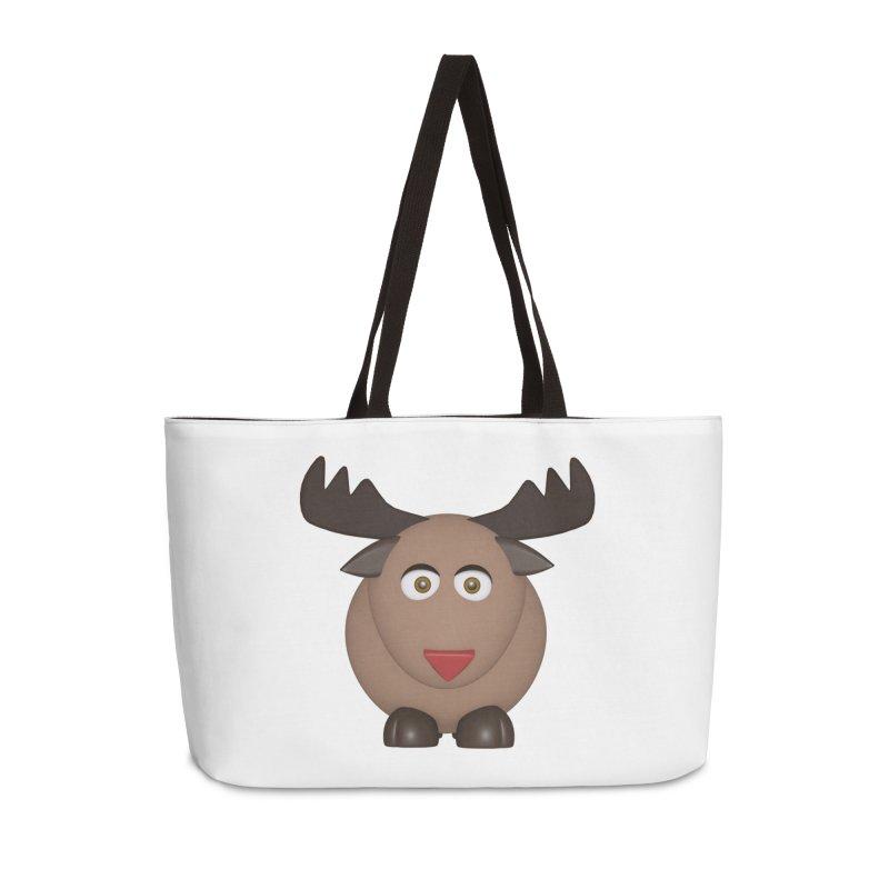 Elk/Reindeer Accessories Weekender Bag Bag by Me&My3D