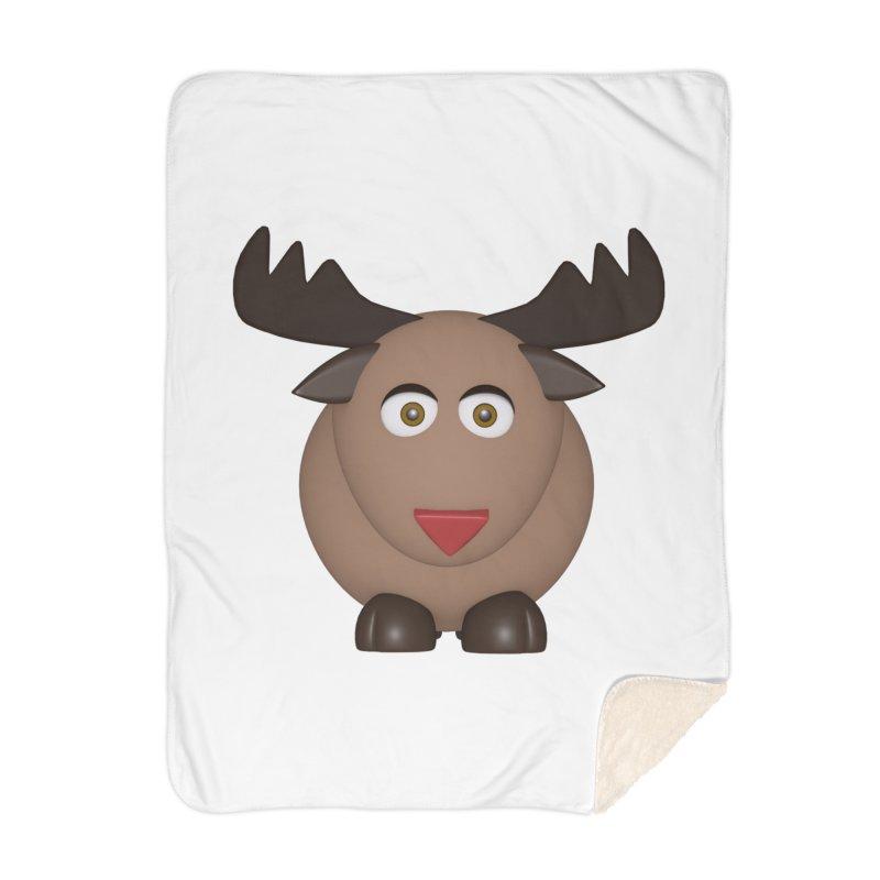 Elk/Reindeer Home Blanket by Me&My3D