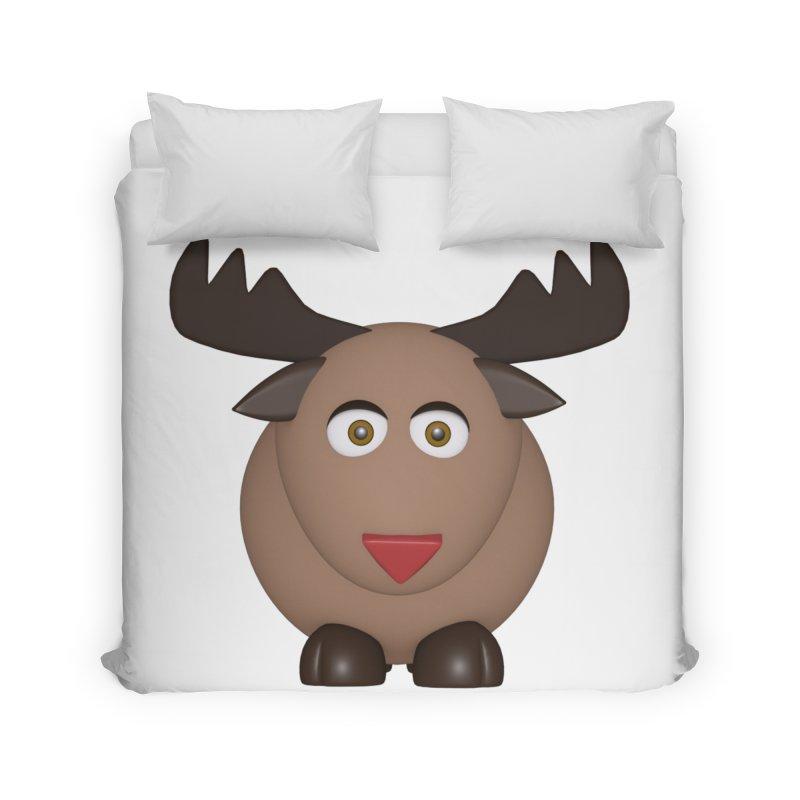 Elk/Reindeer Home Duvet by Me&My3D