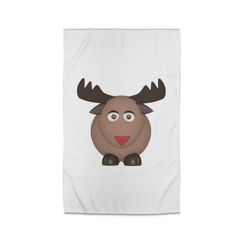 Elk/Reindeer Home Rug by Me&My3D