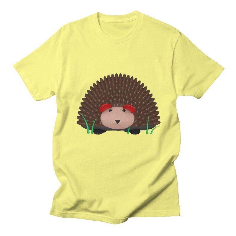 Hedgehog Men's Regular T-Shirt by Me&My3D