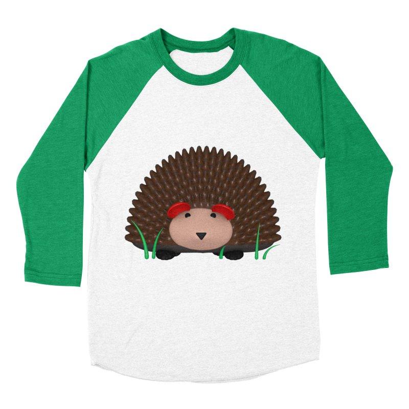 Hedgehog Women's Baseball Triblend Longsleeve T-Shirt by Me&My3D