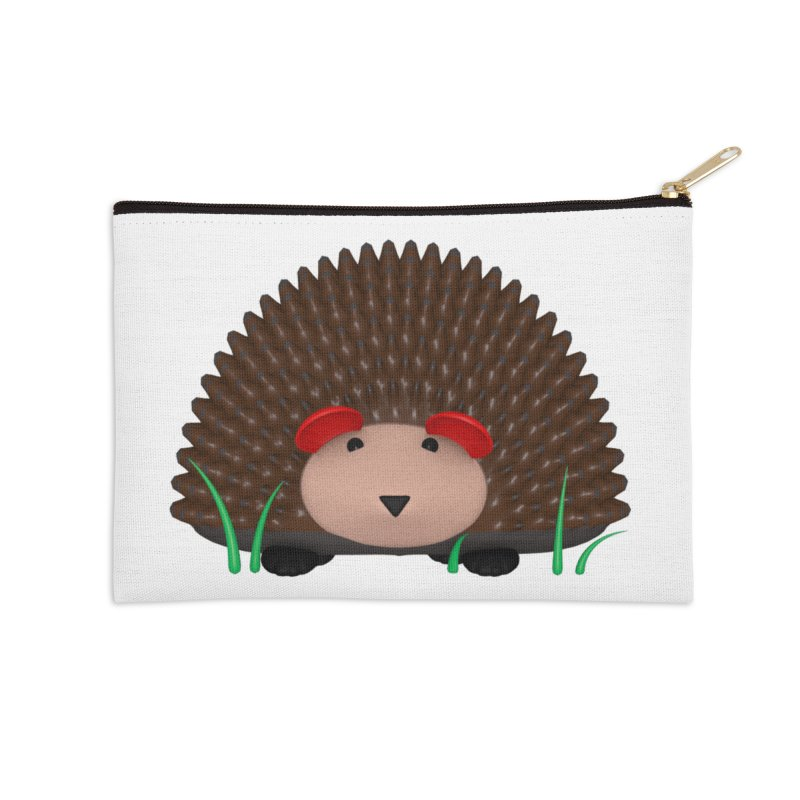 Hedgehog Accessories Zip Pouch by Me&My3D