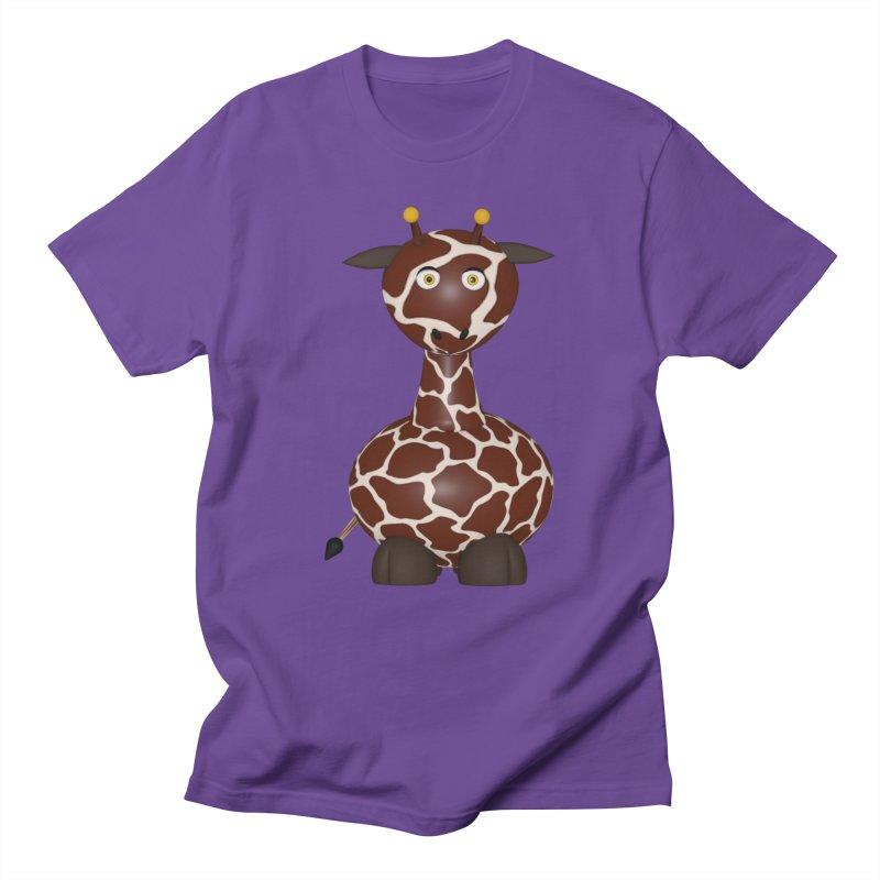 Giraffe Men's Regular T-Shirt by Me&My3D