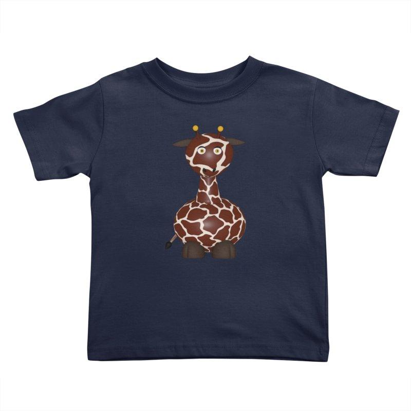 Giraffe Kids Toddler T-Shirt by Me&My3D