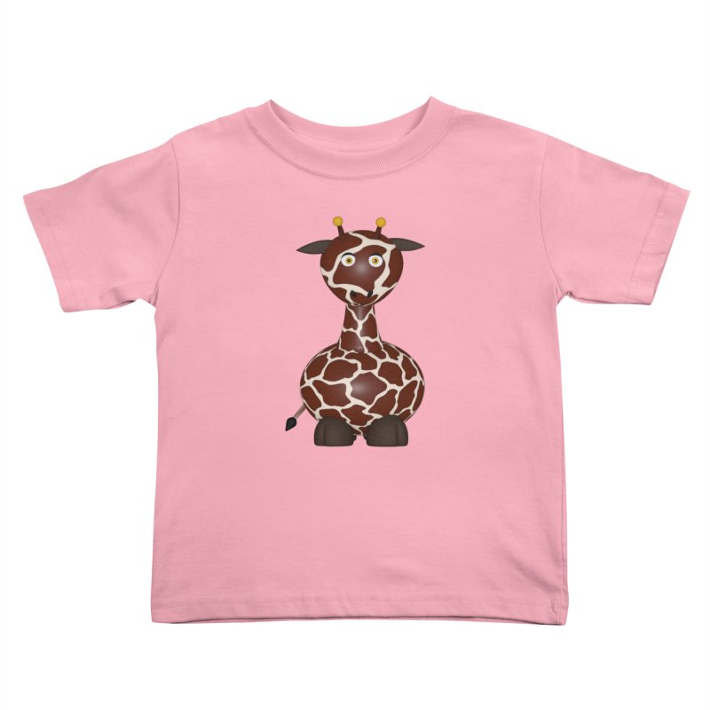 Giraffe Kids Toddler T-Shirt by Me&My3D
