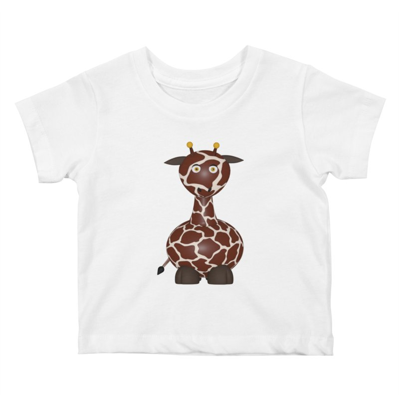 Giraffe Kids Baby T-Shirt by Me&My3D