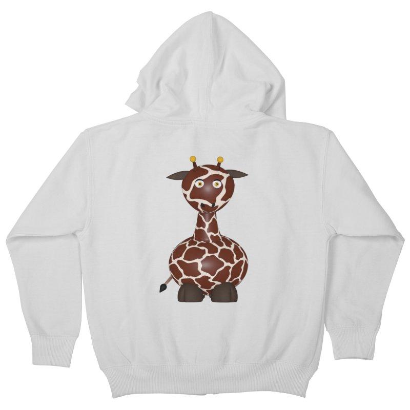 Giraffe Kids Zip-Up Hoody by Me&My3D