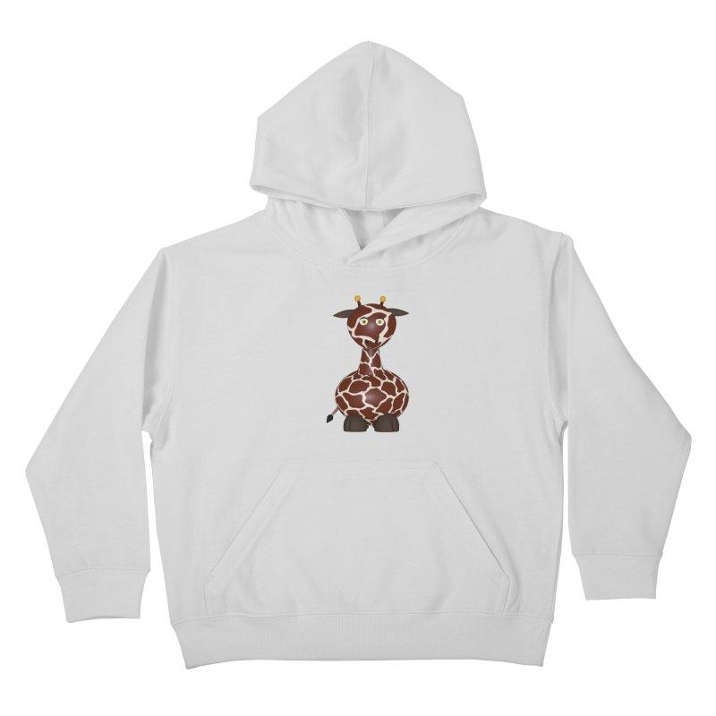 Giraffe Kids Pullover Hoody by Me&My3D
