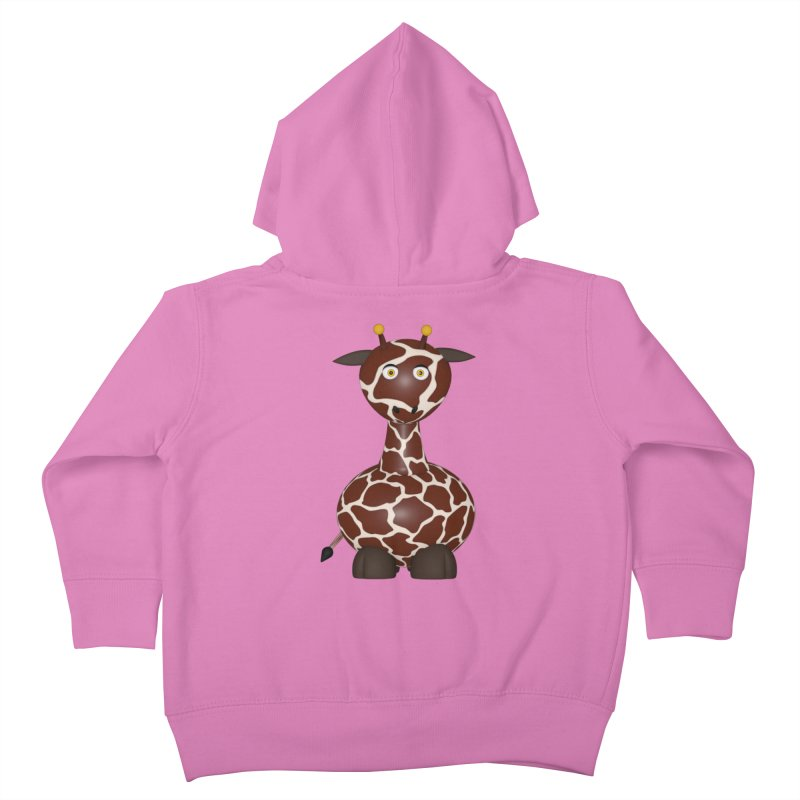 Giraffe Kids Toddler Zip-Up Hoody by Me&My3D