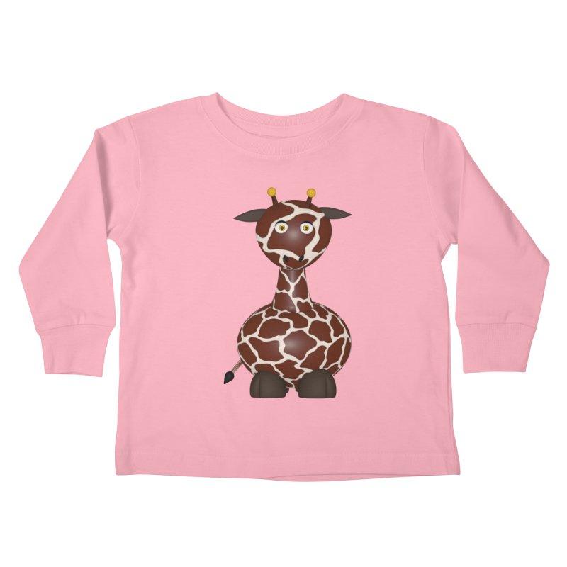 Giraffe Kids Toddler Longsleeve T-Shirt by Me&My3D