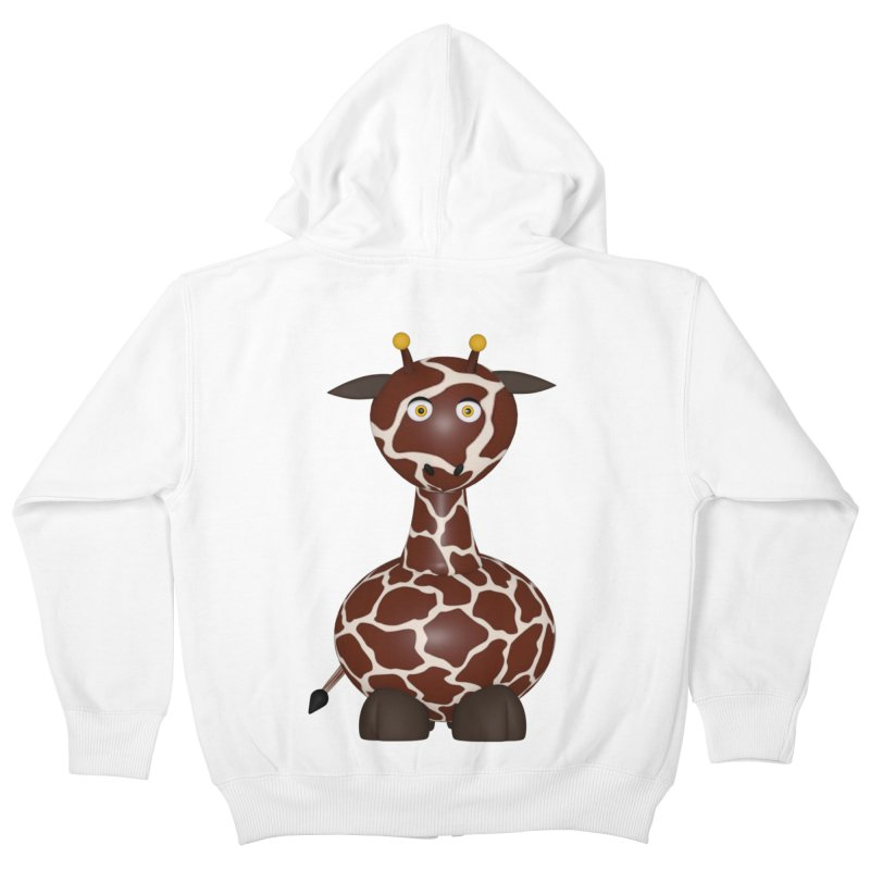 Giraffe Kids Zip-Up Hoody by Me&My3D