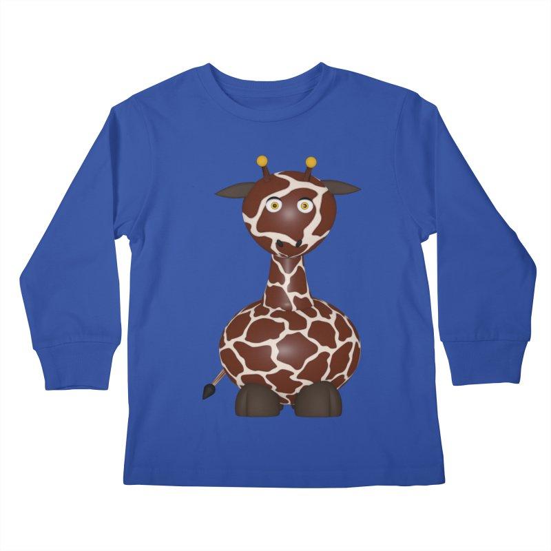 Giraffe Kids Longsleeve T-Shirt by Me&My3D