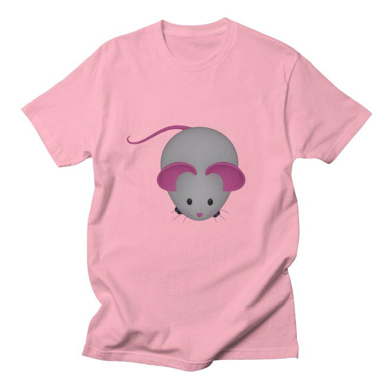 Mouse Men's Regular T-Shirt by Me&My3D
