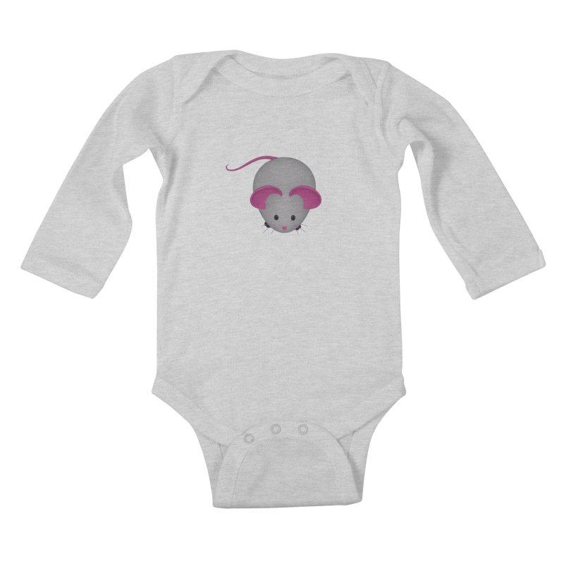 Mouse Kids Baby Longsleeve Bodysuit by Me&My3D