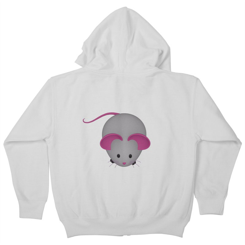 Mouse Kids Zip-Up Hoody by Me&My3D