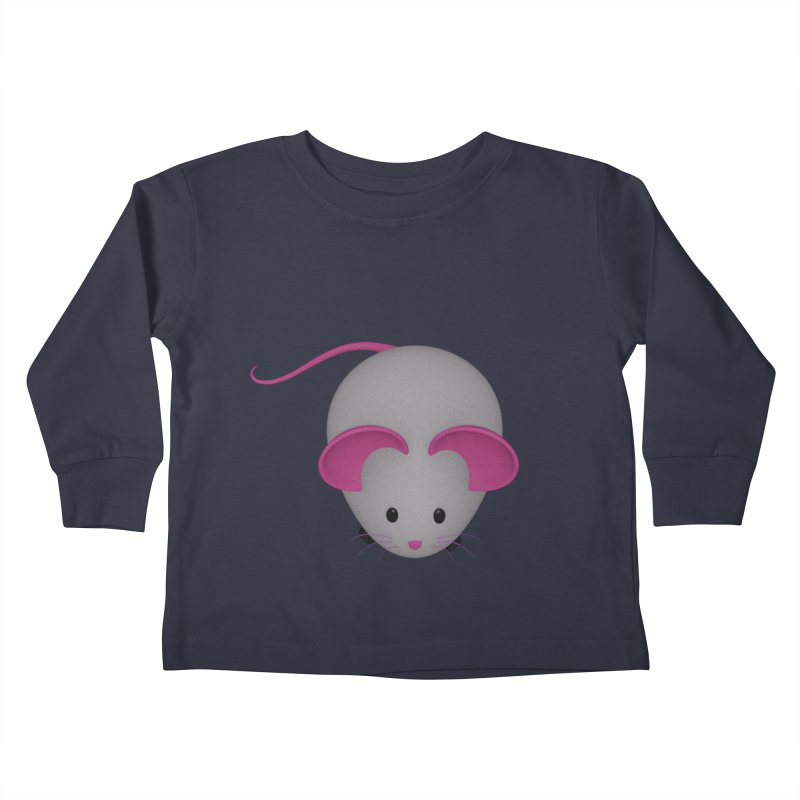 Mouse Kids Toddler Longsleeve T-Shirt by Me&My3D