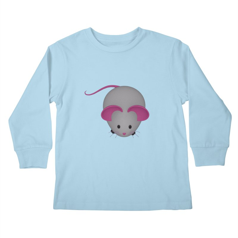 Mouse Kids Longsleeve T-Shirt by Me&My3D