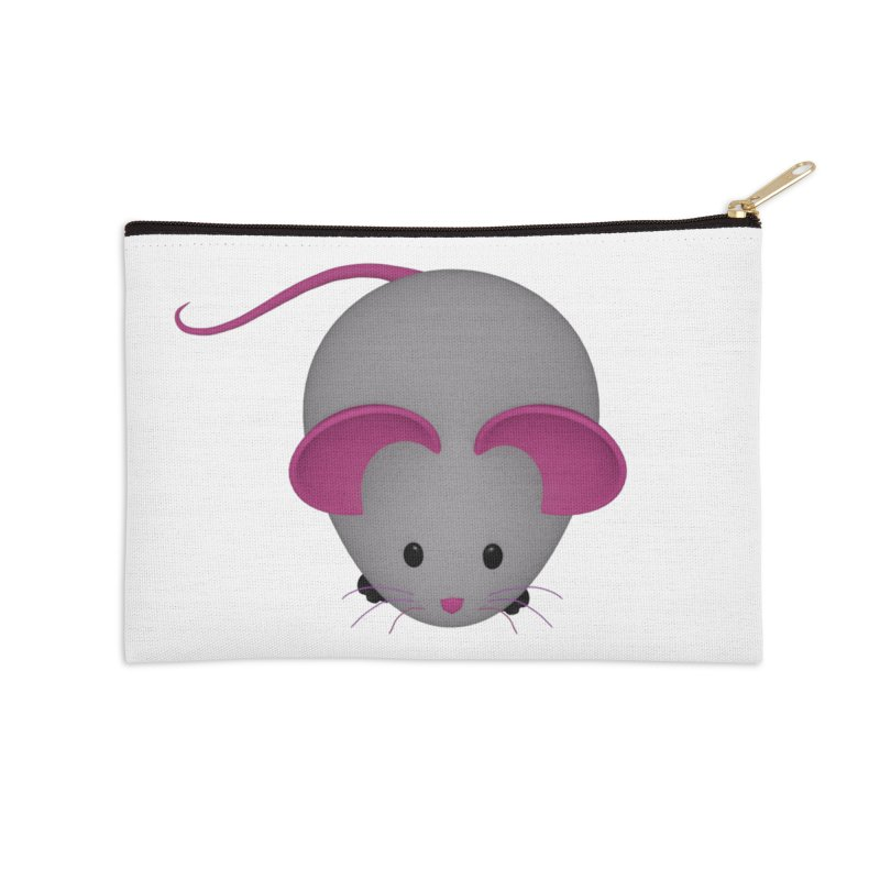 Mouse Accessories Zip Pouch by Me&My3D