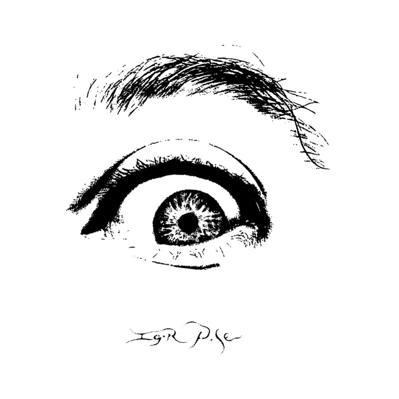 The Eye Men's T-Shirt by IgorPose's Artist Shop