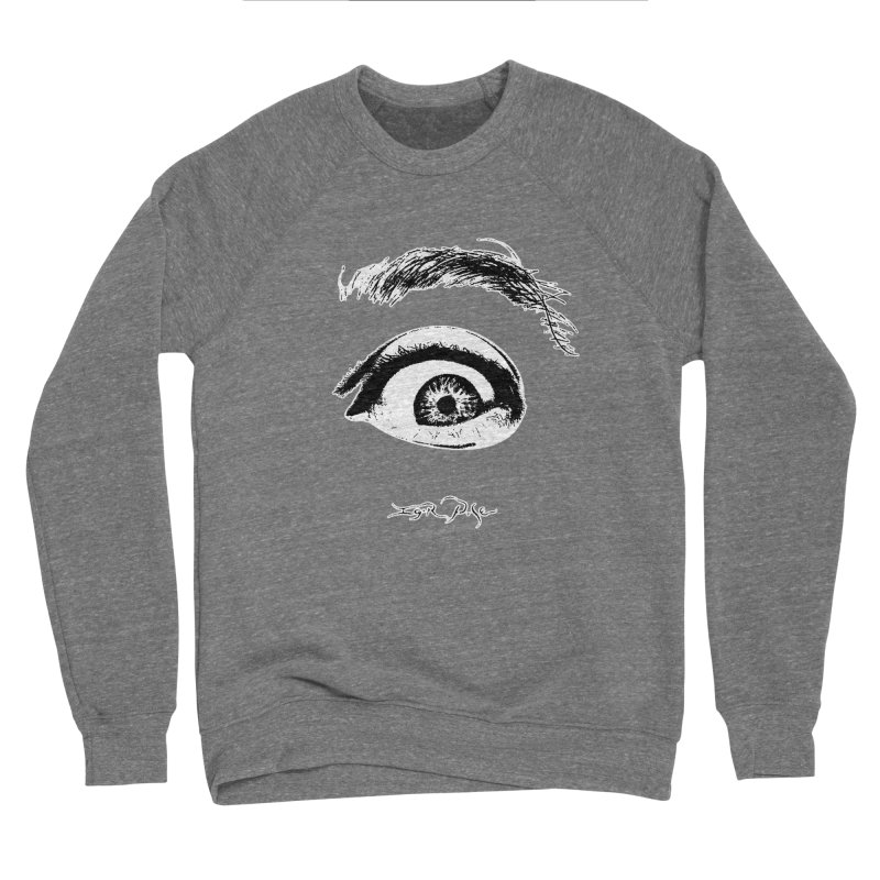 The Eye Men's Sponge Fleece Sweatshirt by IgorPose's Artist Shop