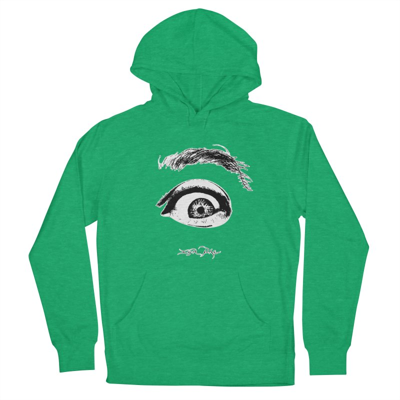 The Eye Men's French Terry Pullover Hoody by IgorPose's Artist Shop