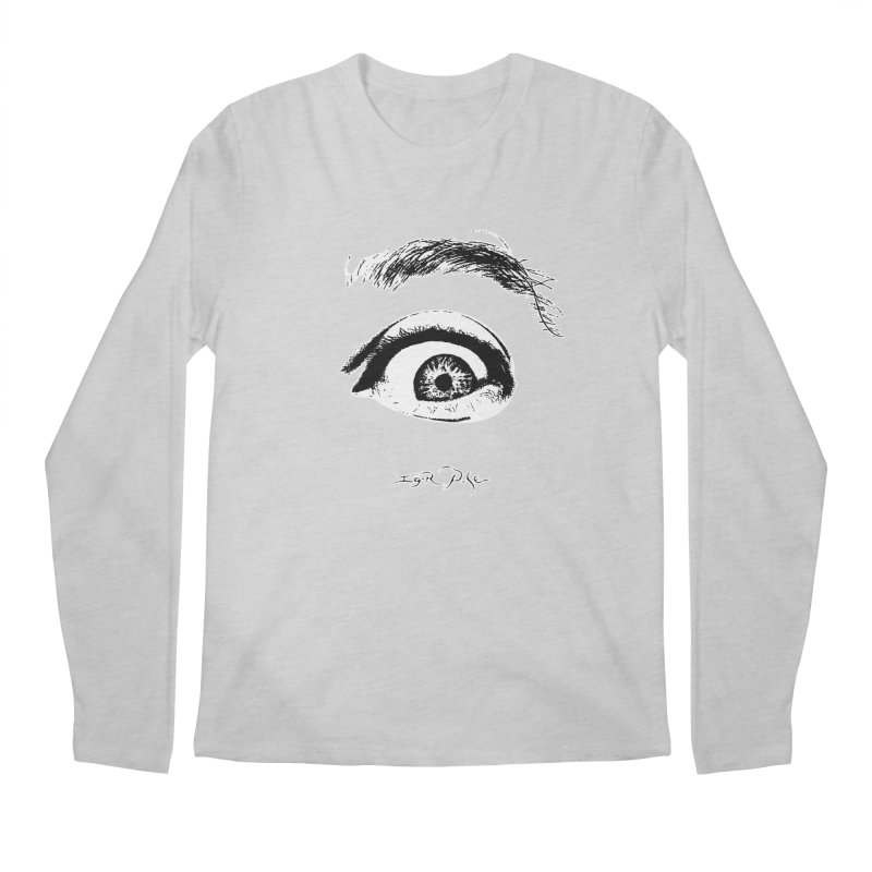 The Eye Men's Regular Longsleeve T-Shirt by IgorPose's Artist Shop
