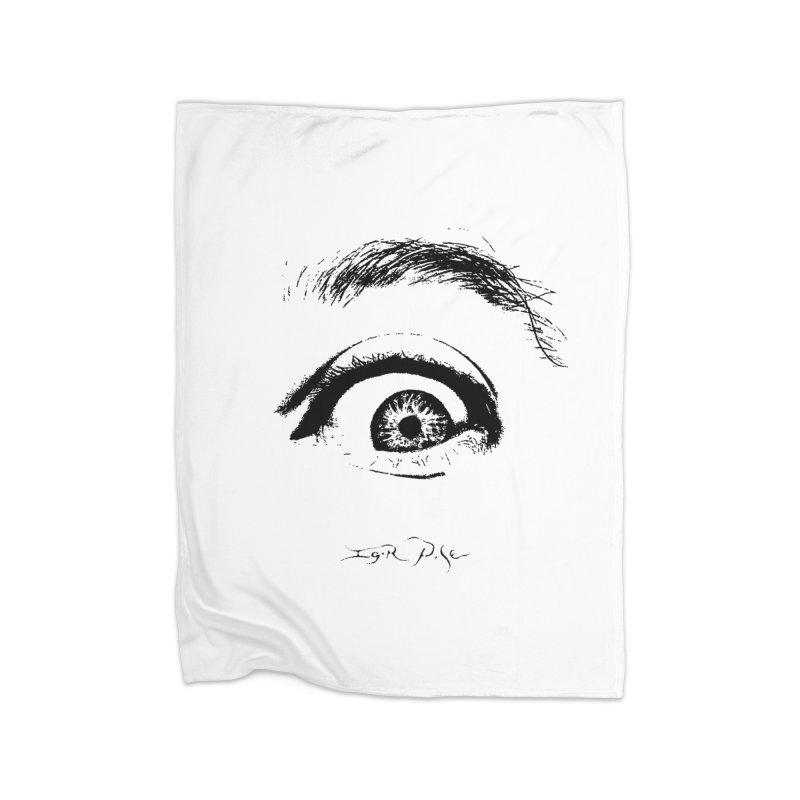 The Eye Home Fleece Blanket Blanket by IgorPose's Artist Shop