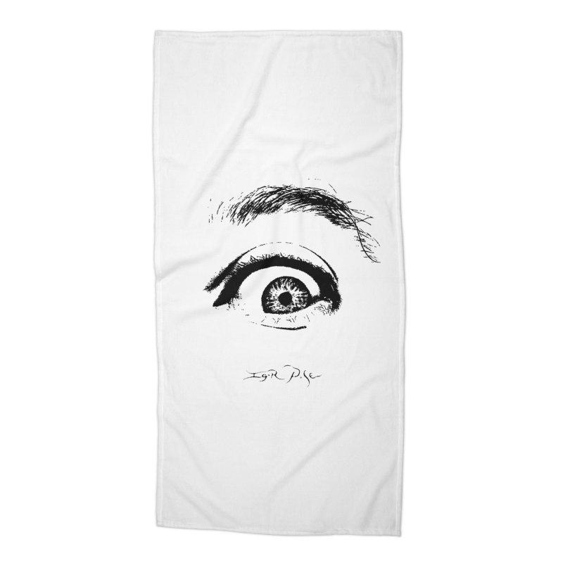 The Eye Accessories Beach Towel by IgorPose's Artist Shop