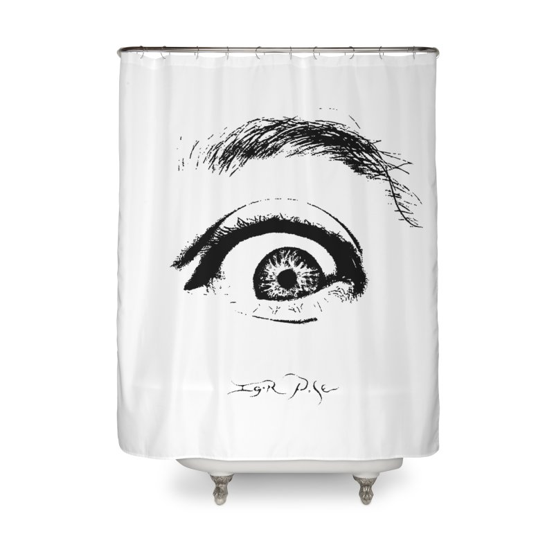 The Eye Home Shower Curtain by IgorPose's Artist Shop