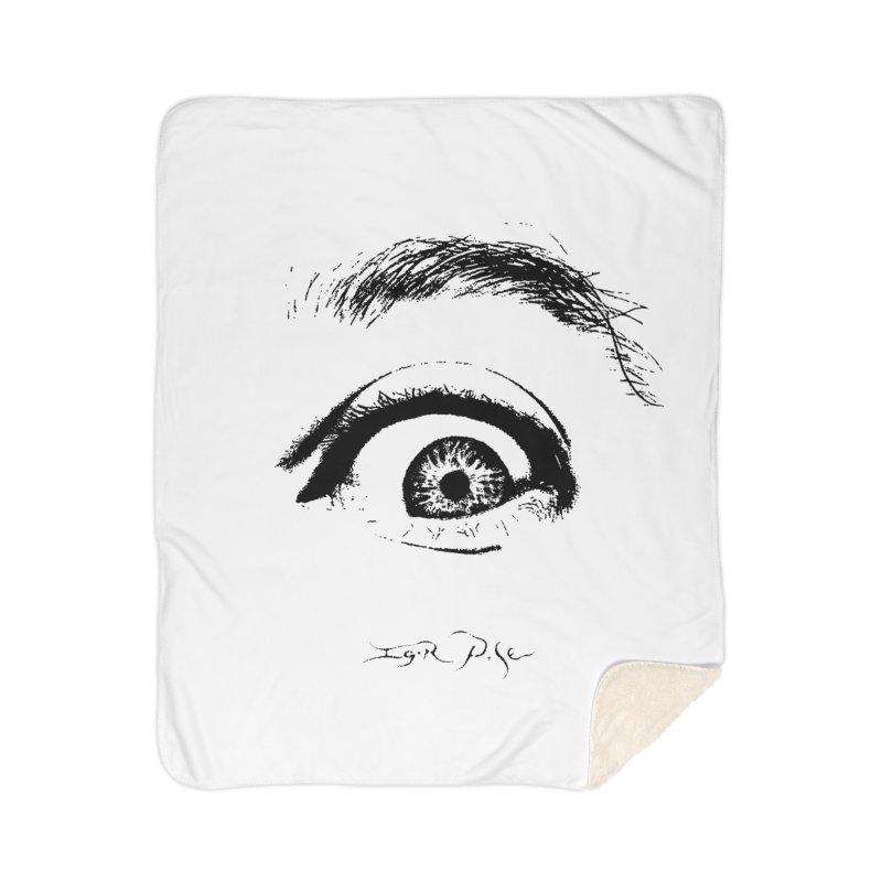 The Eye Home Sherpa Blanket Blanket by IgorPose's Artist Shop