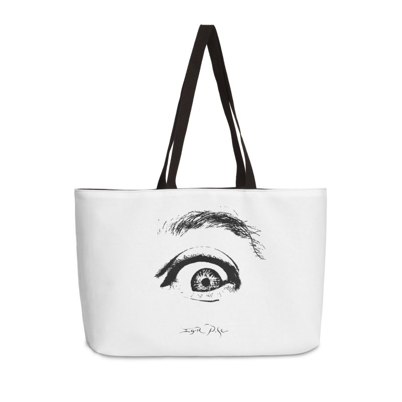 The Eye Accessories Bag by IgorPose's Artist Shop