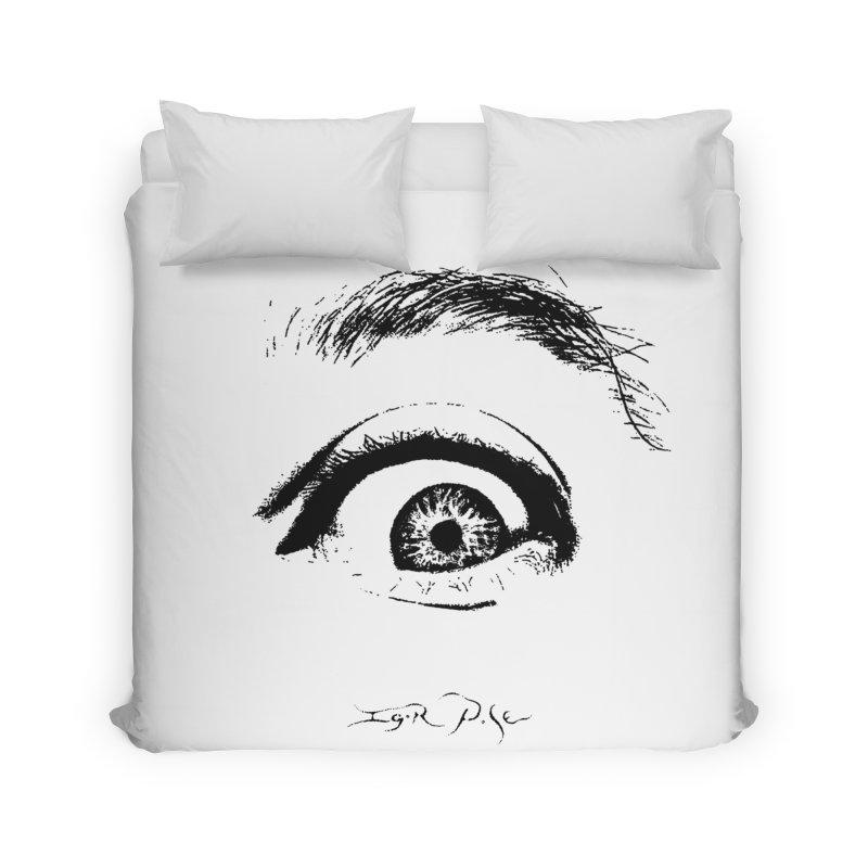 The Eye Home Duvet by IgorPose's Artist Shop