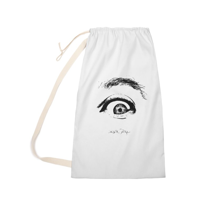 The Eye Accessories Laundry Bag Bag by IgorPose's Artist Shop